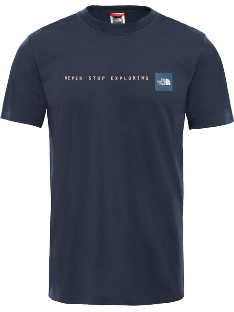 The North Face NSE SS Tee Men Urban Navy/Vintage White